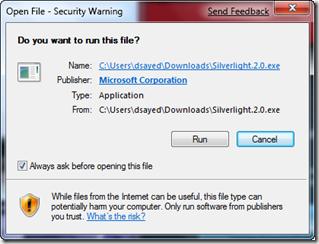 3 Firefox sl run installer